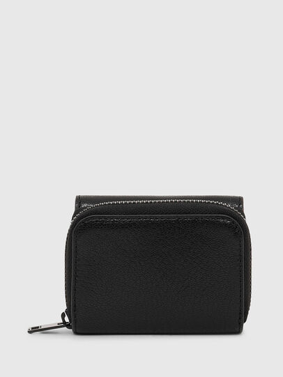 Diesel - SPEJAP, Black/Orange - Small Wallets - Image 2