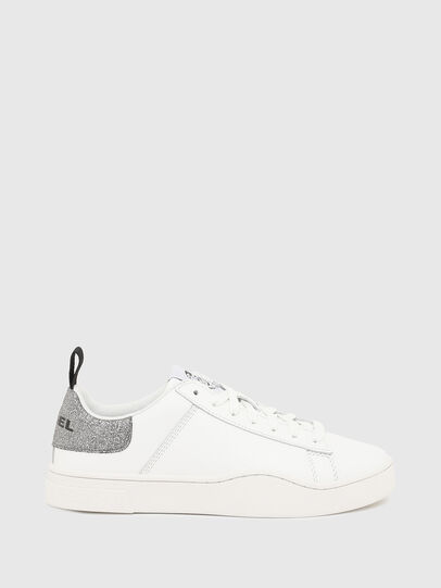 Diesel - S-CLEVER LOW LACE W, White/Silver - Sneakers - Image 1