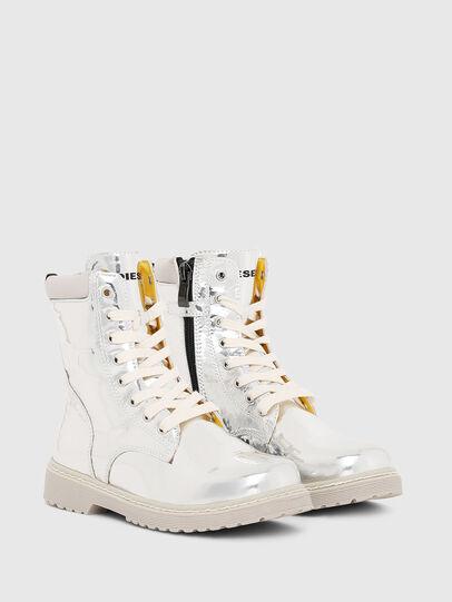 Diesel - HB LACE UP 04 YO, Silver - Footwear - Image 2