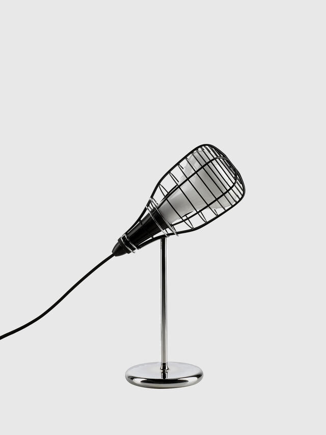 Living CAGE MIC NERO, Black - Table Lighting - Image 1