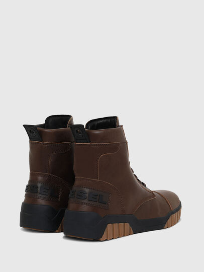 Diesel - H-RUA AM, Brown - Sneakers - Image 3