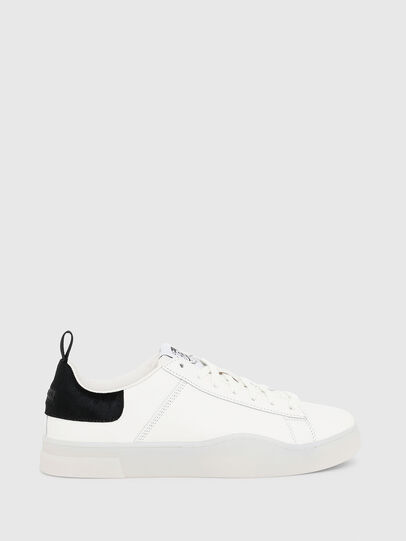 Diesel - S-CLEVER LOW LACE, White/Black - Sneakers - Image 1