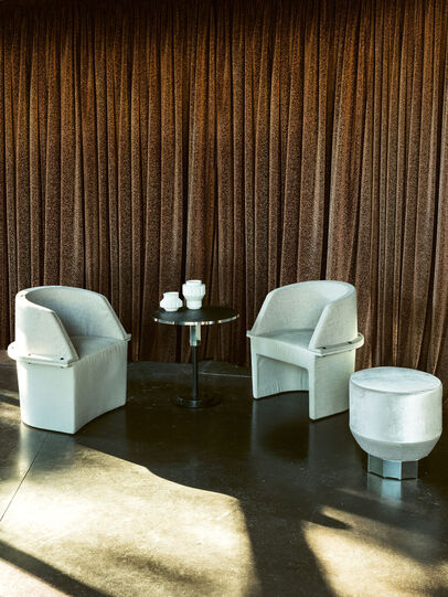 Diesel - ASSEMBLY - SMALL ARMCHAIRS, Multicolor  - Furniture - Image 3