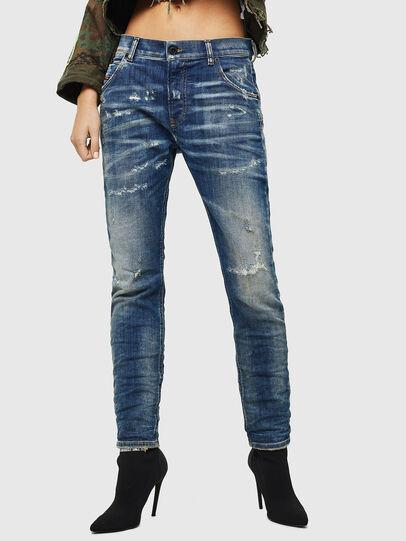 Diesel - Krailey JoggJeans 0870Q, Medium blue - Jeans - Image 1