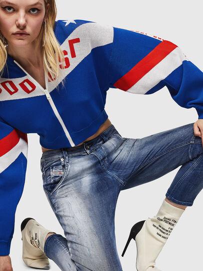 Diesel - Fayza JoggJeans 0870N, Medium blue - Jeans - Image 3