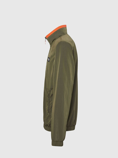 Diesel - UMLT-ROULAY-WZ, Olive Green - Jackets - Image 3