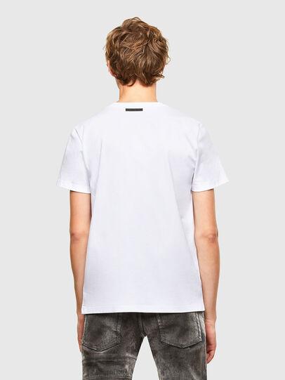 Diesel - T-INO, White - T-Shirts - Image 2