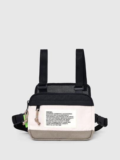 Diesel - DRESSLEK, White/Orange - Crossbody Bags - Image 7
