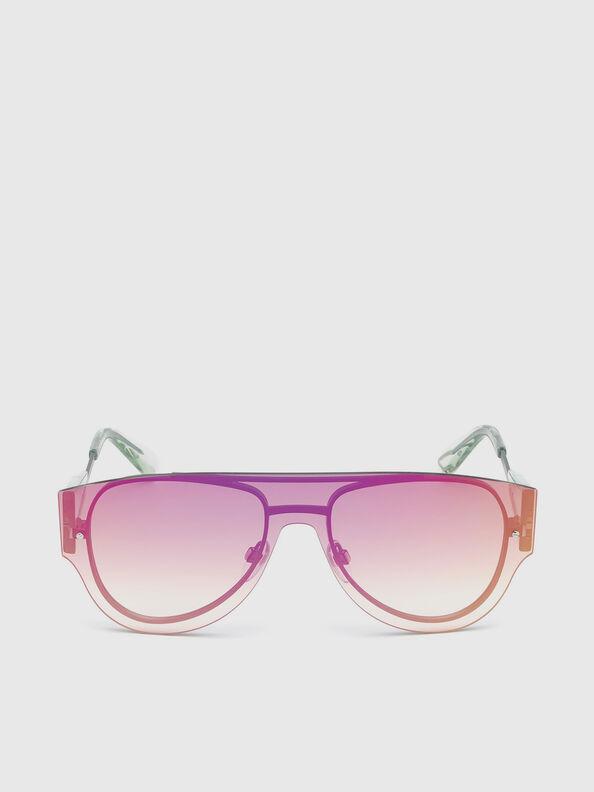 DL0273, Pink/White - Sunglasses