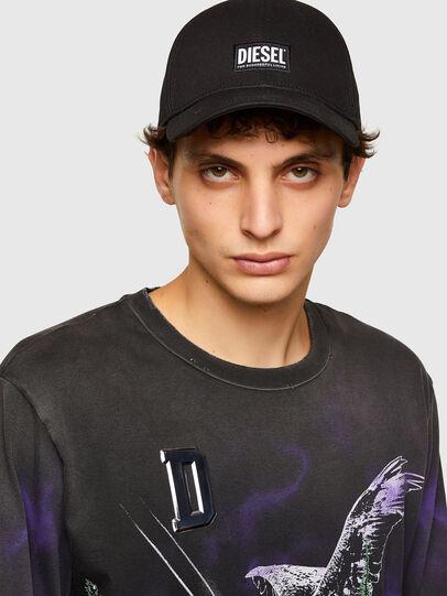 Diesel - T-JUST-LS-A5, Black - T-Shirts - Image 3