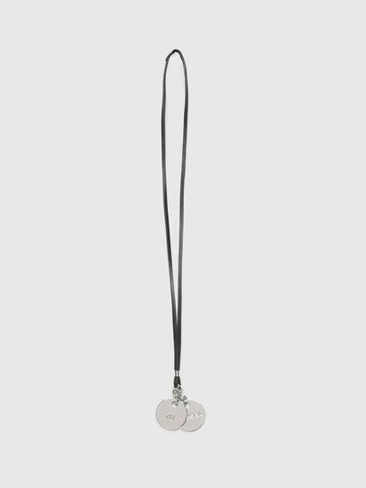 Diesel - N-BELLA, Silver/Black - Bijoux and Gadgets - Image 1