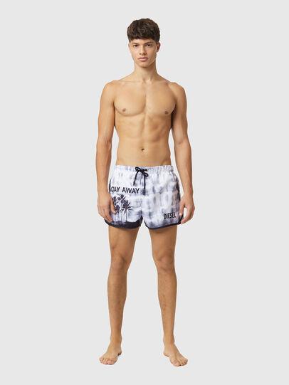 Diesel - BMBX-REEF-30, White - Swim shorts - Image 1