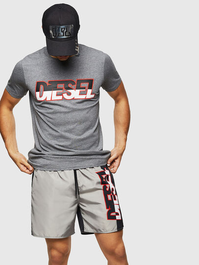 Diesel - BMBX-WAVENEW, Grey - Swim shorts - Image 4