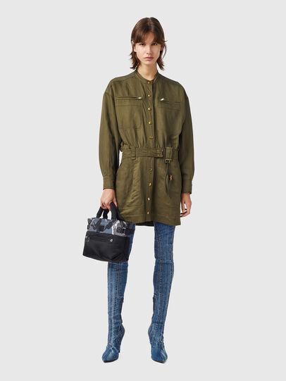 Diesel - D-ANGELICA, Olive Green - Dresses - Image 1