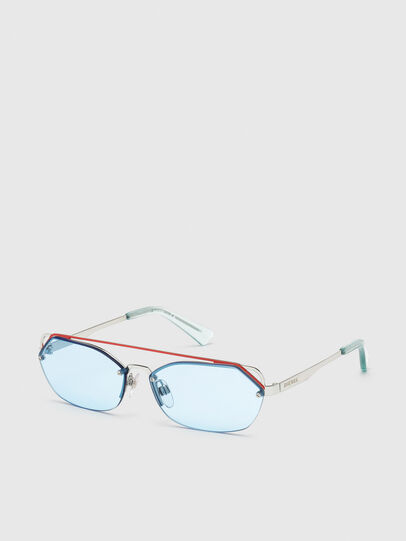 Diesel - DL0313, White/Red - Sunglasses - Image 2