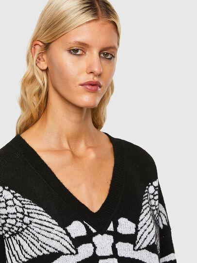 Diesel - M-CRYSTAL, Black - Knitwear - Image 4