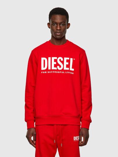 Diesel - S-GIRK-ECOLOGO, Red - Sweaters - Image 1