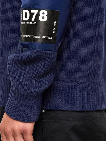 Diesel - K-GILLING, Blue - Knitwear - Image 4