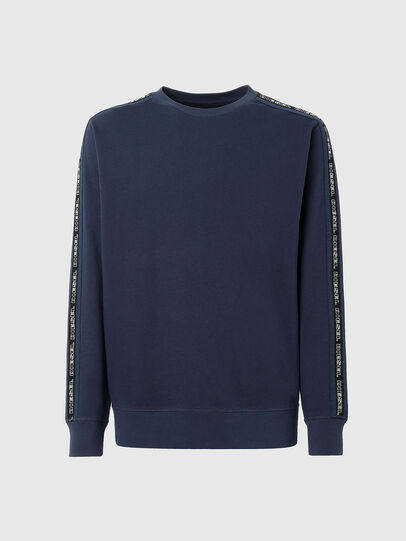 Diesel - UMLT-WILLY, Blue - Sweaters - Image 1