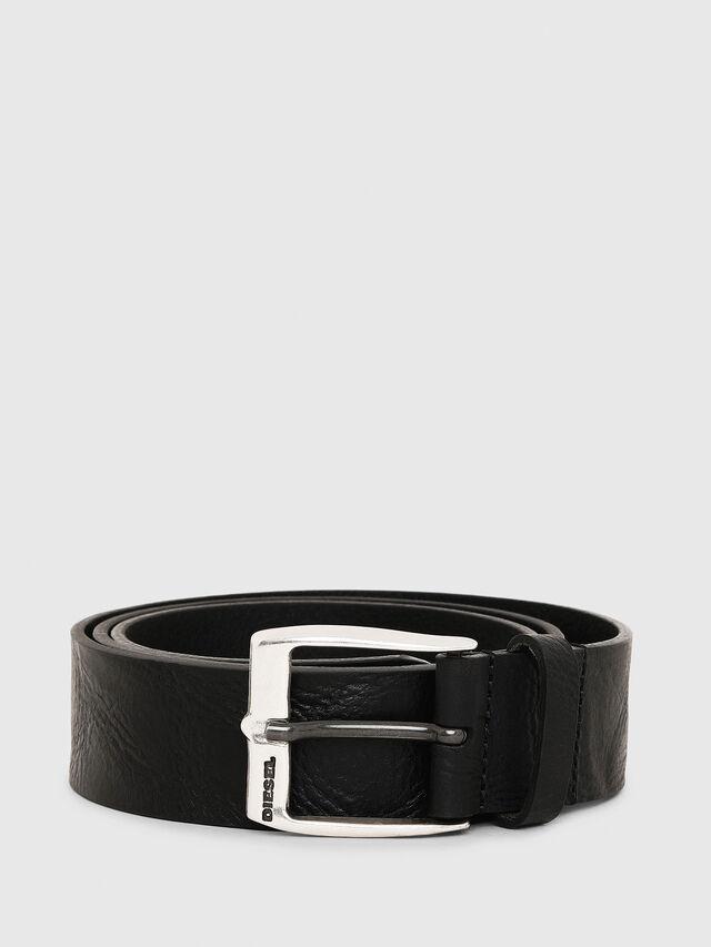 Diesel B-WHYZ, Black - Belts - Image 1