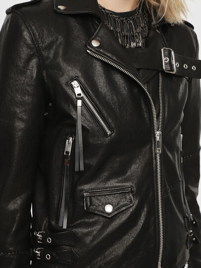 Diesel - SE-LENE,  - Leather jackets - Image 3