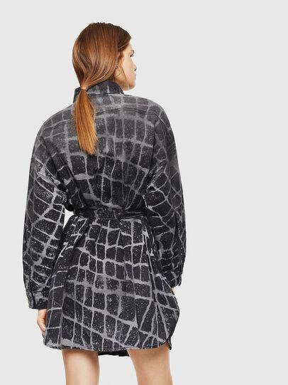 Diesel - D-PINKIES-SP JOGGJEANS, Black/Dark grey - Dresses - Image 2