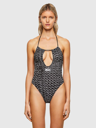 Diesel - BFSW-RHIAS, Black/White - Swimsuits - Image 1