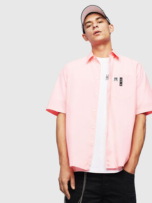 S-FRY-FLUO, Pink - Shirts