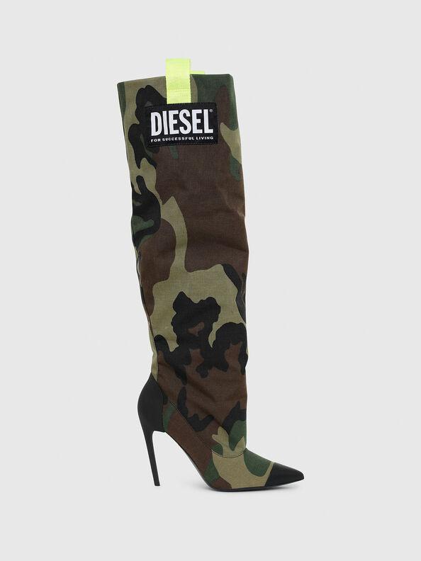 D-SLANTY HOTK,  - Boots