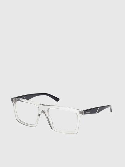 Diesel - DL5399, White/Black - Eyeglasses - Image 2