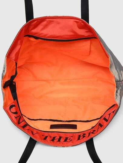 Diesel - VIVYAN, Grey/Orange - Shopping and Shoulder Bags - Image 4