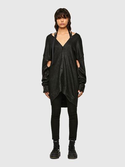 Diesel - M-NANCYE, Black - Knitwear - Image 1