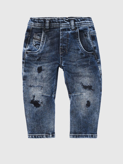 Diesel - FAYZA-B-N JOGGJEANS, Medium blue - Jeans - Image 1