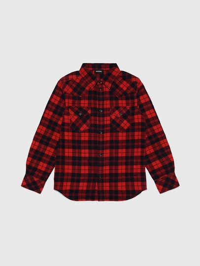 Diesel - CDORRY, Red/Black - Shirts - Image 1