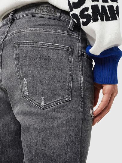 Diesel - D-Eetar 0890F, Light Grey - Jeans - Image 5