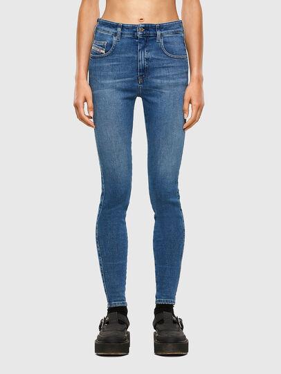 Diesel - Slandy High 009AG, Medium blue - Jeans - Image 1