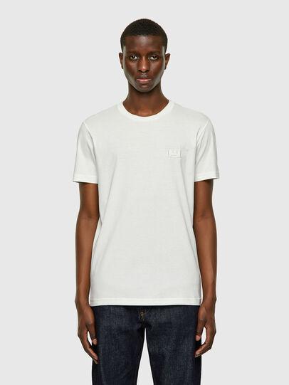 Diesel - T-DIEGOS-E2, White - T-Shirts - Image 1