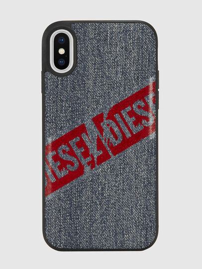 Diesel - VINTAGE DENIM IPHONE X CASE, Blue Jeans - Cases - Image 2