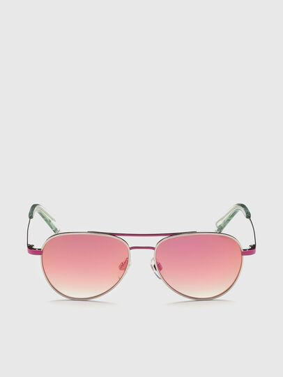 Diesel - DL0291, Pink/White - Kid Eyewear - Image 1