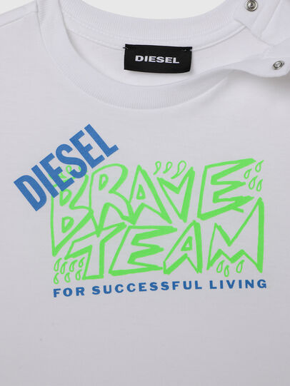 Diesel - TESSOB, White - T-shirts and Tops - Image 3