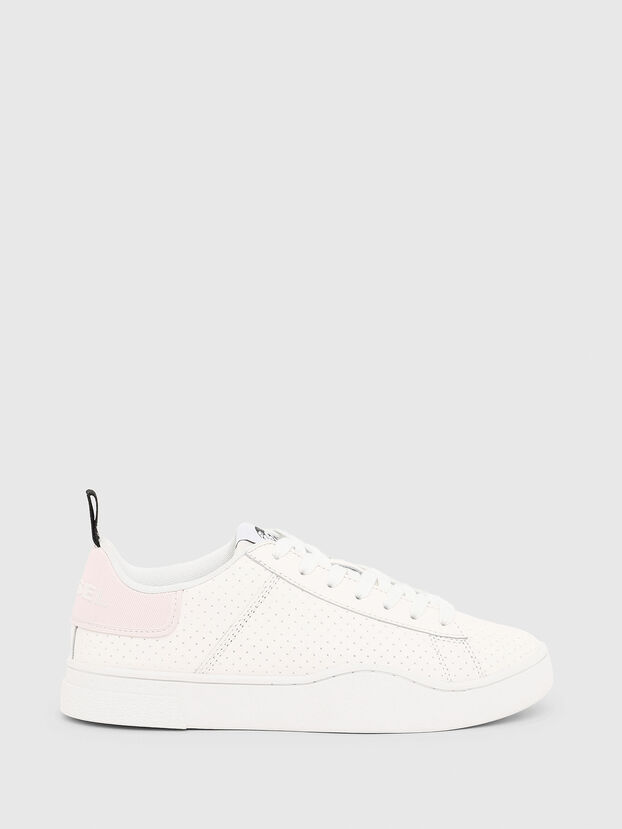 S-CLEVER LOW LACE W, White/Pink - Sneakers