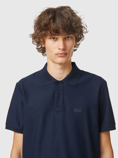 Diesel - T-SMITH-B2, Blue - Polos - Image 3