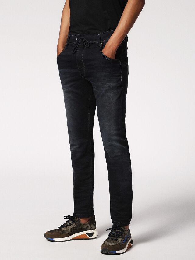 Diesel - KROOLEY JOGGJEANS 0686F, Dark Blue - Jeans - Image 3