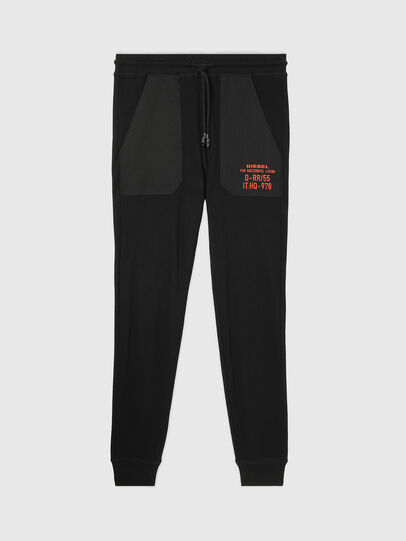 Diesel - UMLB-PETER-W, Black - Pants - Image 1