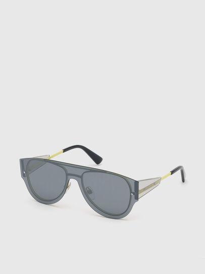 Diesel - DL0273, Black/Yellow - Sunglasses - Image 2