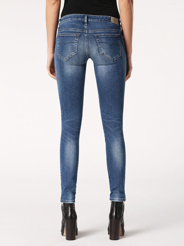 SKINZEE-LOW-S 0689I, Blue Jeans
