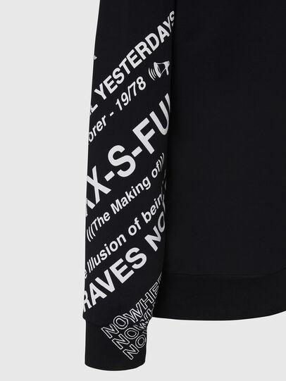 Diesel - S-GIRK-FOLDED, Black - Sweaters - Image 4