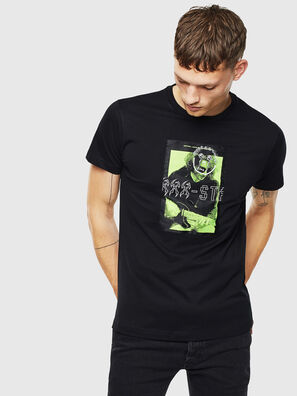 T-DIEGO-J1, Black - T-Shirts