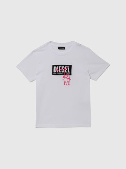 Diesel - TUDARICAT, White - T-shirts and Tops - Image 1