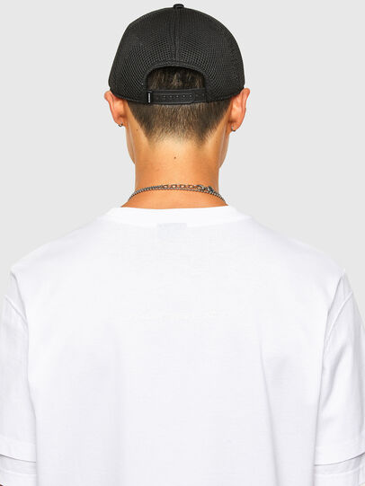 Diesel - T-FONTAL, White - T-Shirts - Image 4